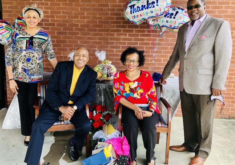 Appreciating Pastor Victor & Lady Maria Cole via Drive by Parade  October 18, 2020