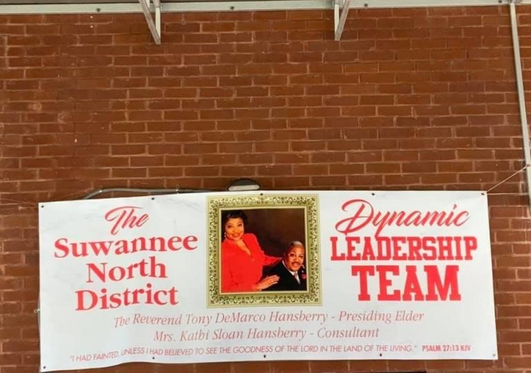 Appreciating SND Presiding Elder & Consultant Hansberry via  Drive by Parade October 3, 2020