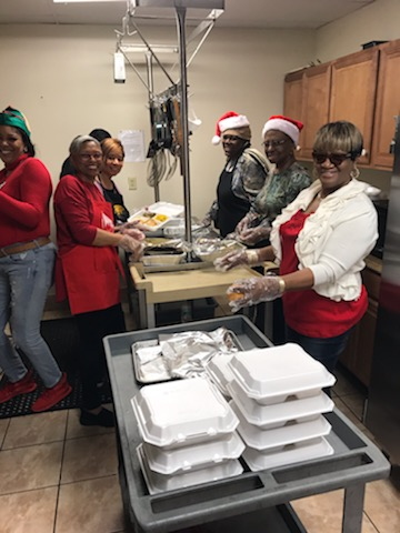 Christmas Feeding the Homeless 2019
