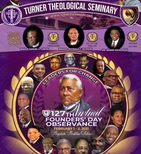 Congratulations Pastor Victor D. Cole - Turner Theological Seminary Class of 2021